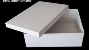 Boîte automontable