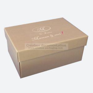 boite à chaussures - 19 x 13 x 8.5 cm