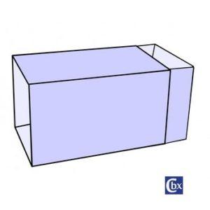 boîte fourreau sans fenêtre