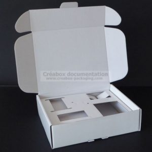boite oreilles - fefco 427 - carton calage sur mesure