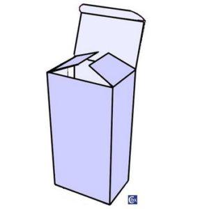 Créabox : étui 1 bouteille debout