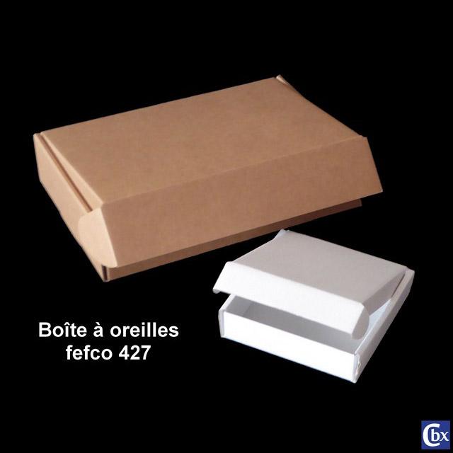 Boite carton à oreilles fefco 427