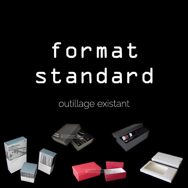 emballage carton format standard