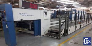 Créabox : machine offset, imprimer le carton