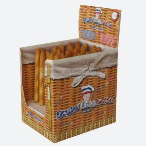 plv - boite présentoir : stylos publicitaires